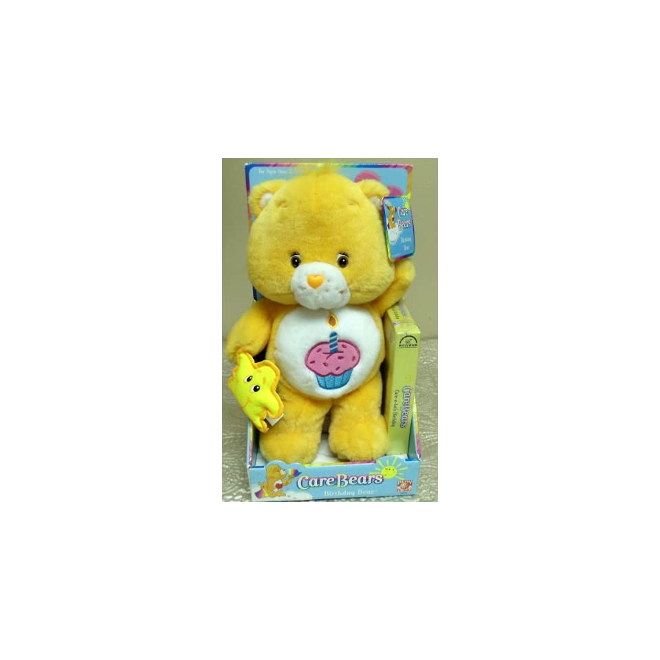 Retired Hard to Find Care Bears 12 Plush Birthday Bear Care Bear Doll