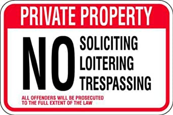 "Zing Eco Parking Sign, Header ""PRIVATE PROPERTY"", 12"" Length x 18"" Width, EGP Aluminum, Black/Red/White (Pack of 1)"