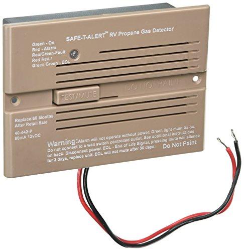MTI Industries 40442PBR 12V Propane/Gas Detector (Carbon Monoxide Detector Camper compare prices)