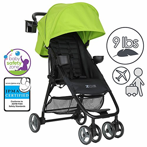 Sale!! ZOE XL1 BEST Xtra Lightweight Travel & Everyday Umbrella Stroller System (Lime Green)