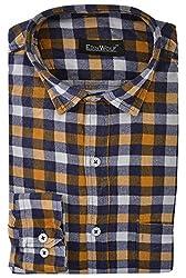 Edinwolf Men's Formal Shirt (EDFR710_40, Multi-Coloured, 40)