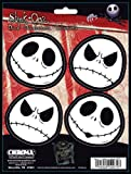 4PC Window Decal Sticker - Nightmare Before Christmas Jack Skellington