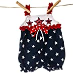 Stars and Ribbons Bubble Romper