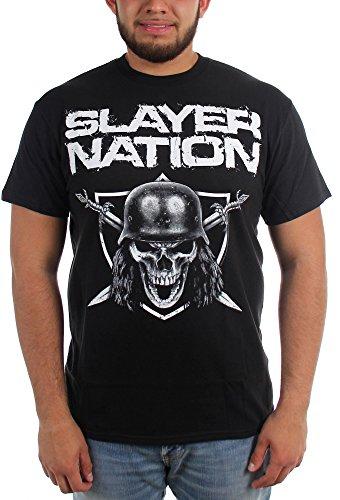 Slayer -  T-shirt - Uomo nero Large