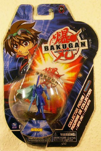 "Bakugan Battle Brawlers 2"" Collector Figure - Siege - 1"