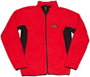 Bear Grylls by Craghoppers Boys' Animal Fleece,Bear Red ,3-4