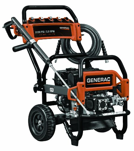 Generac 6607 3,100 Psi 2.8 Gpm 212Cc Ohv Gas Powered Commercial Pressure Washer (Carb Compliant)