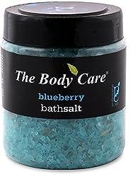 The body care blueberry bathsalt 500g