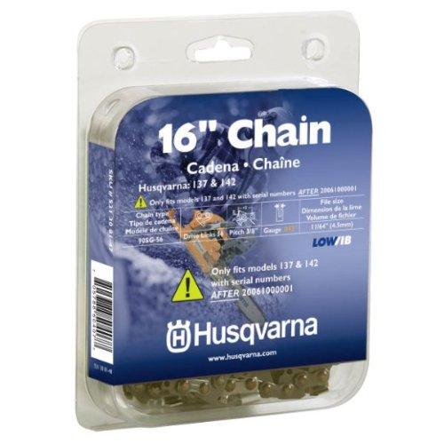 Husqvarna 531308147 16-Inch 90SG-56 Lo-Pro Saw Chain, 3/8-Inch by .043
