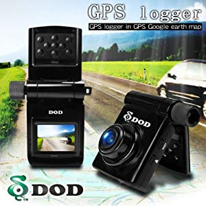 DOD GSE550 GPS搭載 高画質FULL HD 1080Pドライブレコーダー/ Gセンサー、動体検知