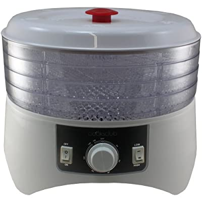 Cooks Club USA FD880CWH 400W Food Dehydrator, Mini, White from Cooks Club USA