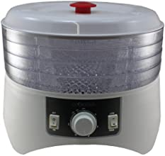 Cooks Club USA FD880CWH 400W Food Dehydrator Mini White