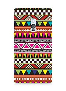 Amez designer printed 3d premium high quality back case cover for OnePlus Two (Pattern 13)