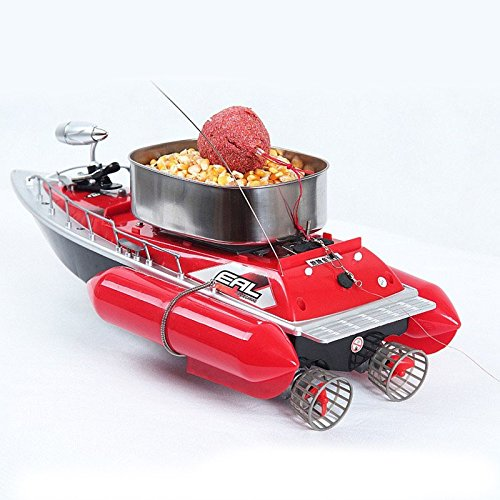 remote control fishing boat with baitcasting