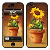 Diabloskinz Vinyl Adhesive Skin,Decal,Sticker for iPhone 5 - Sunflower And Dragon