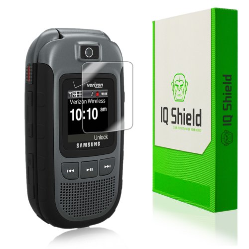 Iq Shield Liquidskin - Samsung Convoy 3 Screen Protector - High Definition (Hd) Ultra Clear Phone Smart Film - Premium Protective Screen Guard - Extremely Smooth / Self-Healing / Bubble-Free Shield - Kit Comes With Retail Packaging And 100% Lifetime Repla