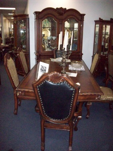 American Made 10-Piece Formal Dining Set