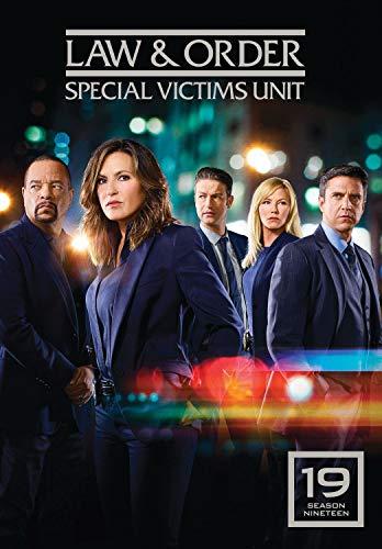 DVD : Law & Order Special Victim's Unit: Season 19 (4 Discos)