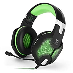 VersionTech Professional Stereo Gaming Headset with Microphone for Mac PC Computer