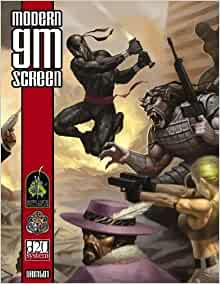 d20 Modern Game Master Screen Paperback September 20, 2005