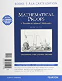img - for Mathematical Proofs: A Transition to Advanced Mathematics, Books a la Carte Edition (3rd Edition) book / textbook / text book