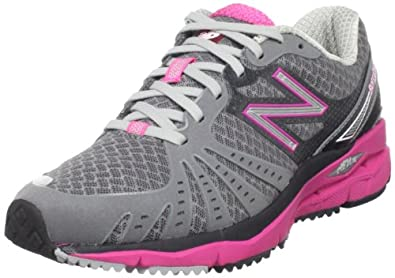 New Balance Women's WR890 Running Shoe,Grey/Pink,6.5 B US
