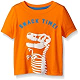 Crazy 8 Little Boys' Baby Snacktime Graphic Tee, Orange Popsicle, 3 Years