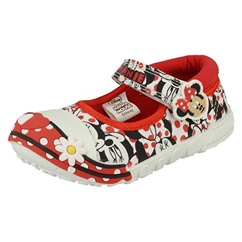 Disney - Sandali con Zeppa da ragazza' , (Red Multi), 28 EU