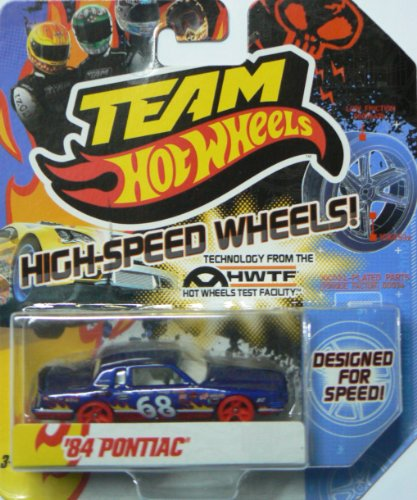2012 Team Hot Wheels High-Speed Wheel '84 Pontiac Blue - 1
