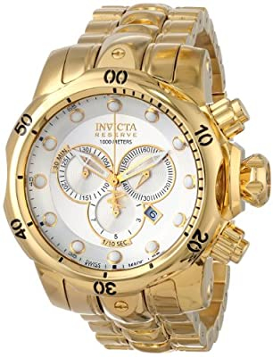 Invicta Men's INVICTA-14505 Venom Analog Display Swiss Quartz Gold Watch