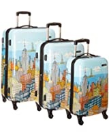 Samsonite Luggage NYC Cityscapes 3 Piece Set 20/24/28