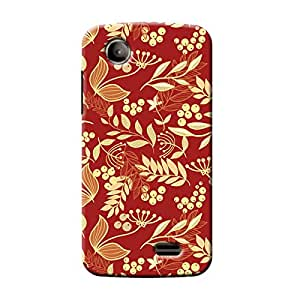 Garmor Seamless Autumn Design plastic back cover for Lenovo A369i Autumn II-11