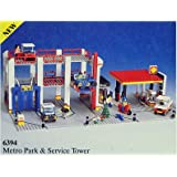 Lego Metro Park & Service Tower 6394
