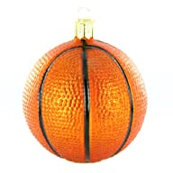 Old World Christmas Basketball Ornament