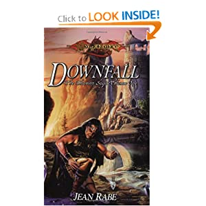 Downfall (Dragonlance:  The Dhamon Saga, Book 1) by Jean Rabe