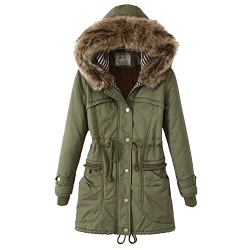 Reviews SUBLEVEL Damen Micro Fleece Mantel   Lange Fleece-Jacke mit ... e507735408