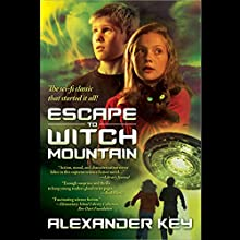 Escape to Witch Mountain (       UNABRIDGED) by Alexander Key Narrated by Marc Thompson