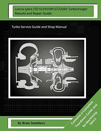 lancia-lybra-jtd-55191599-gt2256v-turbocharger-rebuild-and-repair-guide-english-edition
