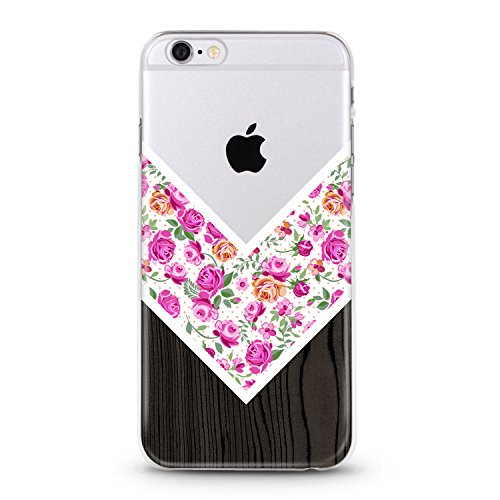 coque-transparente-iphone-6-6s-bois-fleur-liberty-rose-blanc-chevron-silicone-gel