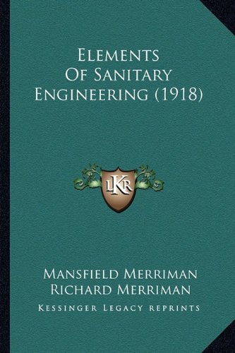 Elements of Sanitary Engineering (1918)