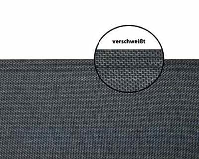 Home & Garden 300640507-HE Seitenmarkise Gestell anthrazit/Textigewebe antharzit H180xL300cm ausziehbar von Hecht - Gartenmöbel von Du und Dein Garten