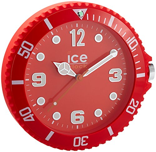 ice-clock-wall-clock-red