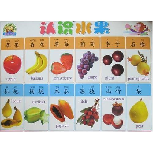 二十一世纪儿童启蒙学习挂图-认识水果/认识蔬菜