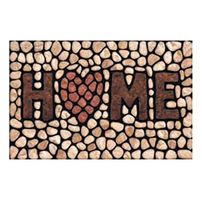 Masterpiece 60-779-1029-01800030 Home Stone Welcome Mat - 18 x 30 in.