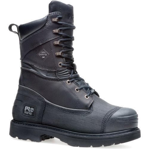 Men's Timberland Pro 10 inch 200 gram Thinsulate Insulation Steel Toe Mining Boots Black, Black, 10D (Timberland Insulation compare prices)