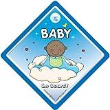 Baby on Board Car Sign Grandchild on Board baby Car Sign Black Baby Baby on Board Sign baby on board Baby on Board Car Sign baby boy sign Baby Boy On Board