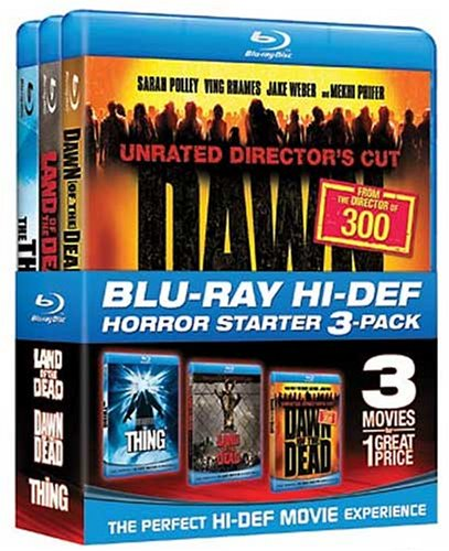 Halloween Starter Pack  (Land of the Dead / Dawn of the Dead / The Thing) [Blu-ray]