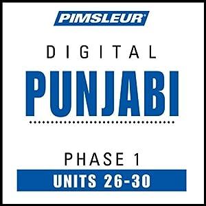 Punjabi Phase 1, Unit 26-30 Hörbuch