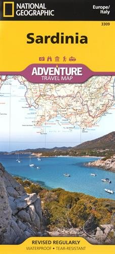 Sardinia [Italy] (National Geographic Adventure Map)
