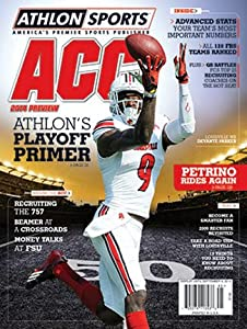 Buy Athlon Sports 2014 College Football ACC Preview Magazine- Louisville Cardinals Cover by Athlon Sports